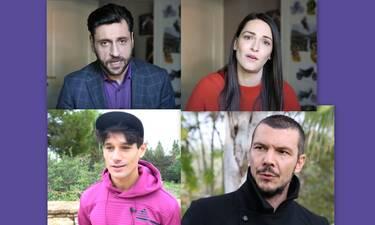Αγγελική: Οι πρωταγωνιστές δίνουν τις πιο θερμές ευχές τους για «καλή χρονιά»