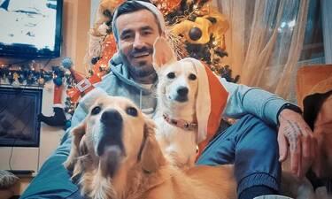 Μαυρίδης: Η οικογενειακή φωτό με τη σύντροφό του και οι ευχές μετά την περιπέτεια με τον κορονοϊό