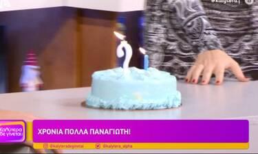 Καλύτερα δε γίνεται: Με τούρτα γενεθλίων ξεκίνησε η εκπομπή! Η αποκάλυψη ηλικίας που δεν περιμέναμε