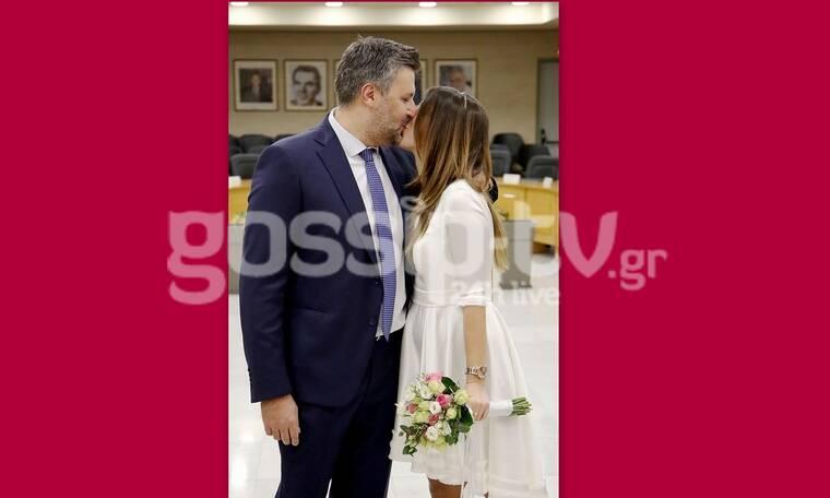 Ο πρώτος γάμος για το 2021 είναι γεγονός! Παντρεύτηκαν λίγο πριν γίνουν γονείς (Photos)