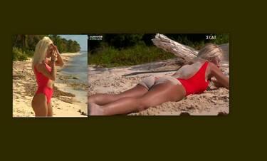 Survivor: Το κόκκινο μαγιό της Ασημίνας «έβαλε φωτιά» στην παραλία των Μαχητών!