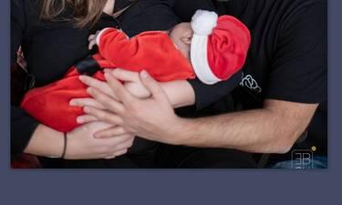 Έλληνας παρουσιαστής δημοσίευσε την πρώτη φώτο με τον 2 μηνών γιο του