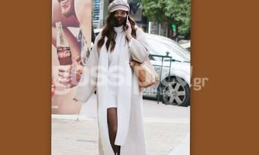 Χριστίνα Μπόμπα: Άρχισε να φοράει τα πρώτα φαρδιά ρούχα η εγκυμονούσα και είναι στιλάτη!