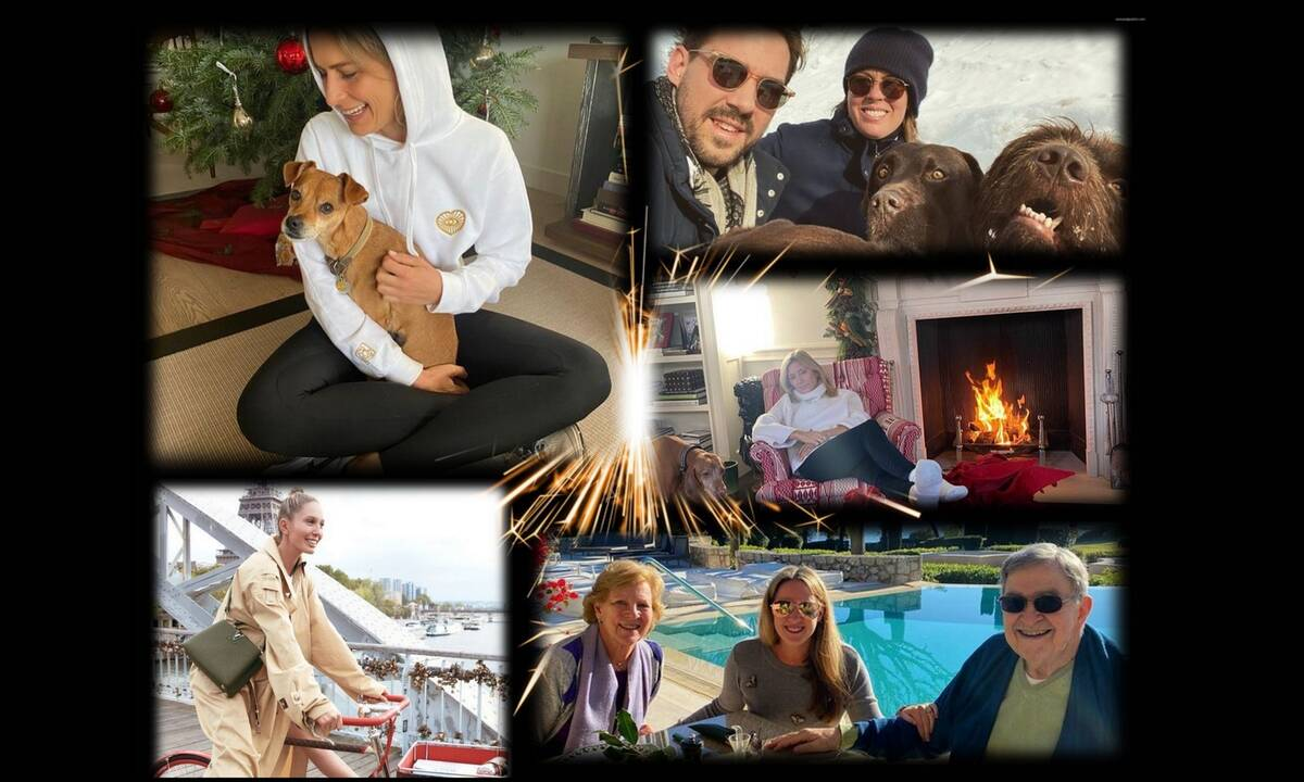 Έτσι πέρασε τις γιορτές η τέως βασιλική οικογένεια της Ελλάδας (pics)