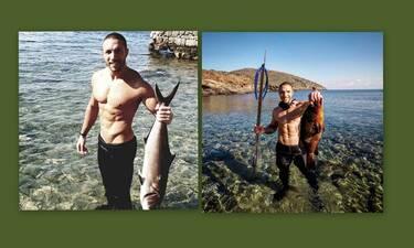 Survivor: Ο Γιώργος Κόρομι λατρεύει το ψάρεμα και έχουμε τις αποδείξεις! (Photos)