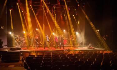Άννα Βίσση: Backstage φωτό από τη λαμπερή live streaming συναυλία στο Παλλάς