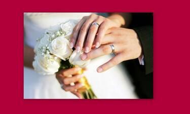 Γνωστός Έλληνας παντρεύεται σήμερα με την αγαπημένη του