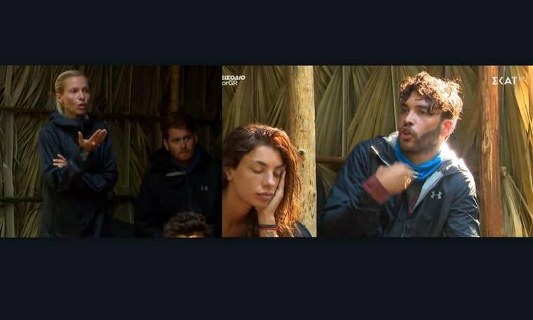 Survivor: Ασημίνα και Γιώργος  στα «μαχαίρια» - Η επίθεση άνευ προηγούμενου και ο άγριος καβγάς