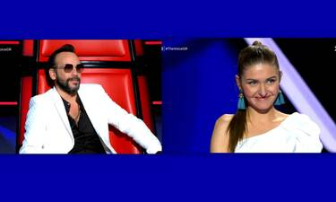 The Voice: Κλάμα! Ο Μουζουράκης της μιλούσε αλλά εκείνη δεν καταλάβαινε Ελληνικά!
