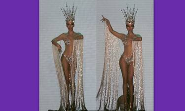 Madwalk 2020: «Κόβει ανάσες» η Ελένη Φουρέιρα με τη διάφανη φόρμα και την τιάρα!