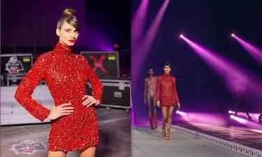 MadWalk 2020: «Φωτιά» στα κόκκινα η Ηλιάνα Παπαγεωργίου