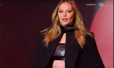 Madwalk 2020:Η Υβόννη Μπόσνιακ μετά από καιρό περπάτησε στην πασαρέλα και έκλεψε την παράσταση