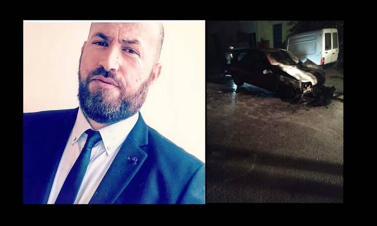 Γιώργος Σφακιανάκης: Βόμβα στο αυτοκίνητο του δημοσιογράφου (Photos)