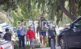 Να τι κάνει ο Λιάγκας με τους γιους του Κυριακή πρωί! (photos)