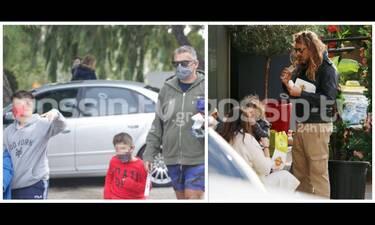 Μπαμπάδες με τα παιδιά τους εν δράσει εν μέσω πανδημίας! (photos)