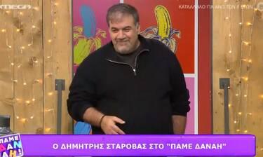 Δημήτρης Σταρόβας: «Δεν μπορώ να παντρευτώ λόγω κορονοϊού»