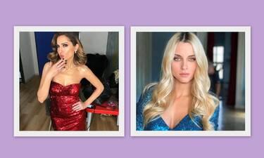 """Νομικού - Βανδή: Φόρεσαν το ίδιο φόρεμα και έγινε """"πάρτι"""" στο instagram"""