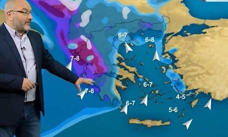 Καιρός: Πού θα χιονίσει το Σάββατο; Πήρε θέση ο Σάκης Αρναούτογλου (vid)
