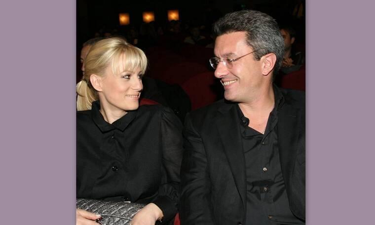 Νίκος Χατζηνικολάου: Οι φώτο με το φιλί στο στόμα στη σύζυγό του, Κρίστη Τσολακάκη
