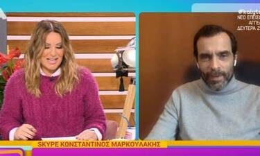 Μαρκουλάκης: «Θα πάω τη μητέρα μου να εμβολιαστεί για τον κορονοϊό. Νιώθω συγκίνηση»