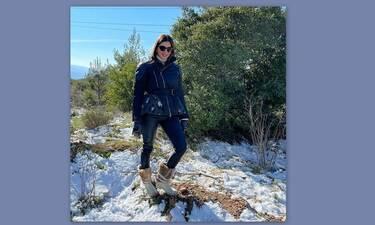 Τσιμτσιλή: Η εξόρμηση στα χιόνια με την οικογένειά της και η απάντηση στα αρνητικά σχόλια