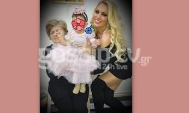 Γωγουλίνι: Η κόρη της έγινε ενός έτους! Το πάρτι γενεθλίων και η εντυπωσιακή τούρτα (exclusive pics)