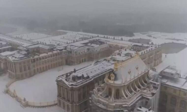 Στα λευκά έχει «ντύθηκε» η Ευρώπη – Εντυπωσιακές εικόνες (video)