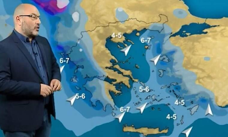 Καιρός - Αρναούτογλου: Θα... χαθεί ο ήλιος στη δυτική Ελλάδα! Πού επιστρέφουν τα χιόνια