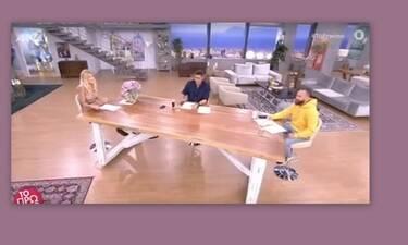 Χαμός στο Πρωινό: «Έχεις τα σκήπτρα της αξιοπρέπειας στην τηλεόραση, εμείς σου βρωμίζουμε τον λόγο»