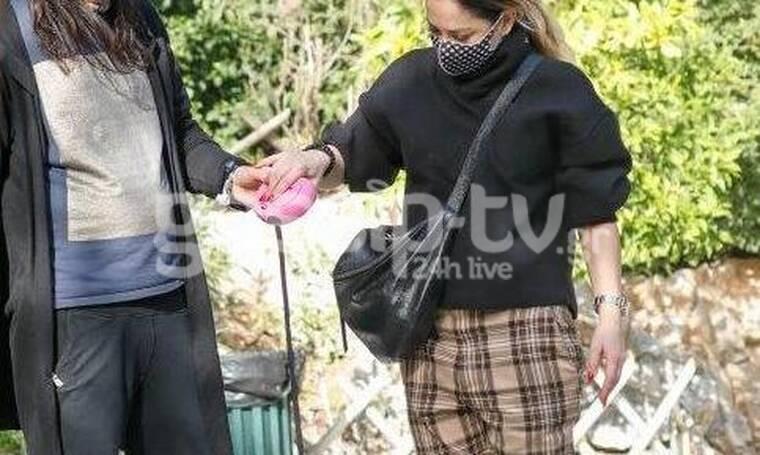 Μελίνα Ασλανίδου: Δείτε με ποιον την απαθανάτισε ο φωτογραφικός μας φακός!