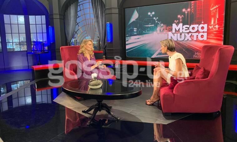 Μεσάνυχτα: Μπήκαμε στο γύρισμα της Ελεονώρας Μελέτη με την Λένα Παπαρρηγοπούλου και έχουμε backstage