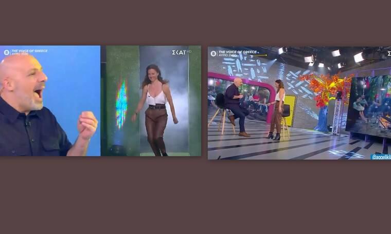 Καλό Μεσημεράκι: Άφωνος ο Μουτσινάς με την Λάμπρη – Πόσα κιλά έχασε;