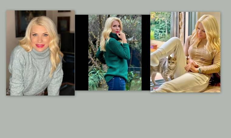 Μενεγάκη: Η καραντίνα συνεχίζεται κι εκείνη έχει δημιουργήσει την πιο cozy ντουλάπα με homewear