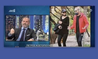 Πέτρος Κωστόπουλος: Απαντά πρώτη φορά στις φήμες που τον θέλουν ζευγάρι με την Κατερίνα Λιόλιου