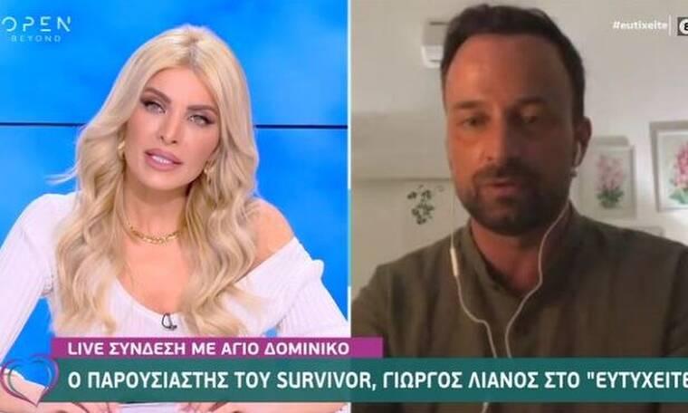 Survivor: Ο Γιώργος Λιανός αποκάλυψε τον πραγματικό λόγο που επιστρέφει στην Ελλάδα