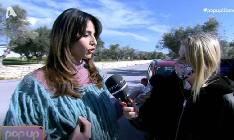 Pop Up: Η Παπαγεωργίου βγήκε εκτός πλατό για να ρωτήσει αν η Καινούργιου είναι έγκυος