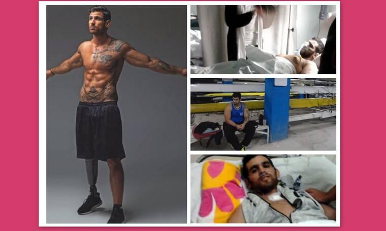 Ετεοκλής Παύλου: Έτσι έχασε 50 κιλά μετά τον ακρωτηριασμό του! Το πριν και το μετά!