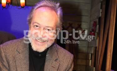 Γρηγόρης Βαλτινός: «Αυτή τη στιγμή που μιλάμε, το θέατρο είναι στην εντατική»