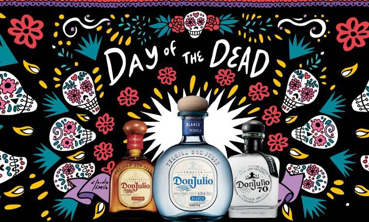 Όταν η Ημέρα των Νεκρών, συνάντησε την πρώτη luxury τεκίλα του Μεξικό, Don Julio