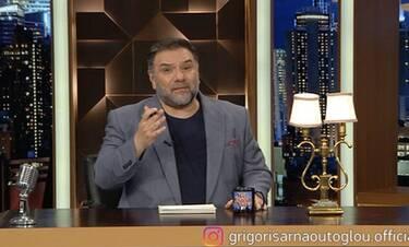 The 2night show: Η έκτακτη παρέμβαση του Αρναούτογλου στην εκπομπή του – Το μήνυμα του παρουσιαστή