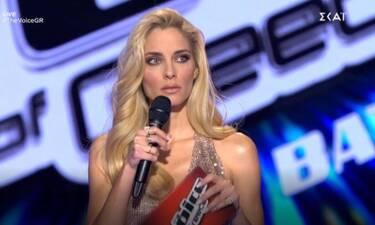 The Voice: Αιφνιδιάστηκε η Δούκισσα Νομικού με την παρέμβαση στο live!