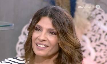 Τσαπανίδου: Συγκινημένη μίλησε για την εγκυμοσύνη της κόρης της: «Πολύ κλάμα όταν το έμαθα»