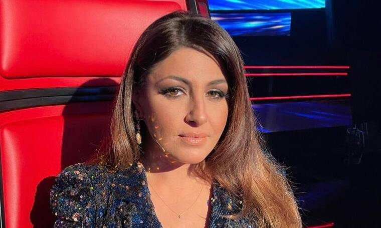 The Voice: Αποκλειστικό: Αυτό είναι το κραγιόν που φορά η Έλενα Παπαρίζου απόψε