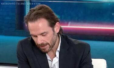 Νίκος Πουρσανίδης: «Έπαθα κρίση πανικού πάνω στη σκηνή από πίεση συναδέλφου»