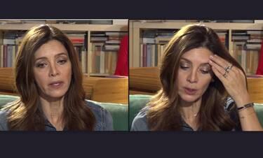 Κατερίνα Λέχου: Με τρεμάμενη φωνή σπάει η σιωπή της για τον Κιμούλη: «Με έβριζε πάνω στη σκηνή»