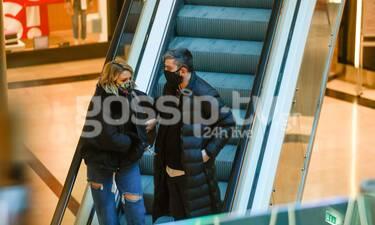 Δημοσιογράφος του Pop Up σε βόλτα για ψώνια με τον σύντροφό της!