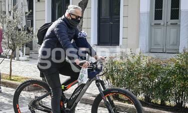 Χάρης Χριστόπουλος: Με τον Χριστόπουλο junior στην πιο ωραία ποδηλατάδα!