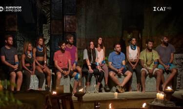 Survivor: Επεισοδιακό συμβούλιο - Βγήκε υποψήφια προς αποχώρηση και κατέρρευσε