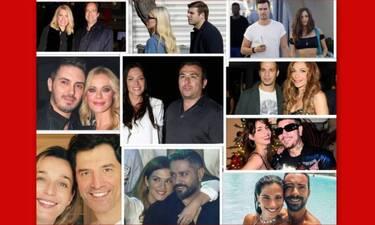Άγιος Βαλεντίνος: Αυτά είναι τα 10 πιο ερωτευμένα ζευγάρια της ελληνικής showbiz!