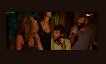 Survivor: Ξεκατίνιασμα στο συμβούλιο! «Είσαι προδότης», φώναζε η Ελευθερία στον Αλέξη Παππά